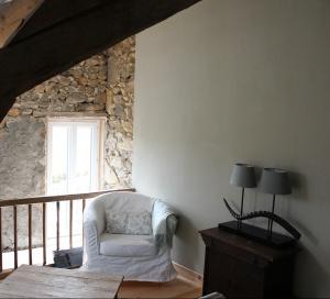 Zitje in slaapkamer Petite Maison
